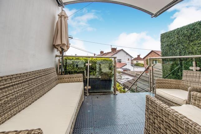 Terrace of Bridge Road, Crosby, Liverpool, Merseyside L23