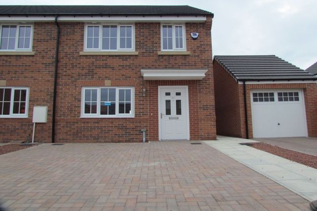 Terraced house for sale in Roedeer Court, Wideopen, Newcastle Upon Tyne