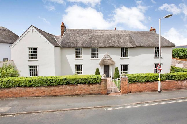 Thumbnail Detached house for sale in Chudleigh Road, Alphington, Exeter