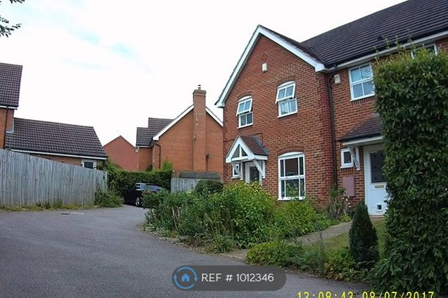 3 bed end terrace house to rent in Wren Close, Brackley NN13