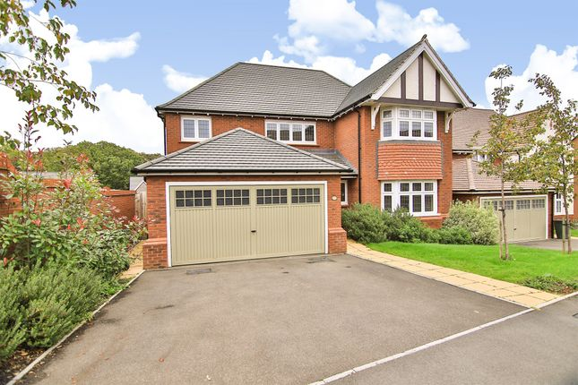Thumbnail Detached house for sale in Tyn Y Berllan, Lisvane, Cardiff