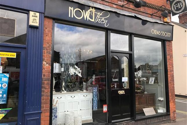 Retail premises for sale in Beautiful Interiors & Furnishings Retailer S40, Derbyshire
