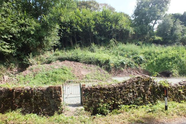 Thumbnail Land for sale in Plot 1 And Plot 2, Well Cottage, Liddeston Road, Havens Head