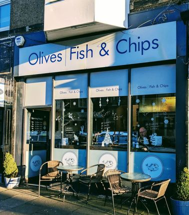 Thumbnail Commercial property for sale in Olives Fish & Chips, 32 Station Road, Whitley Bay