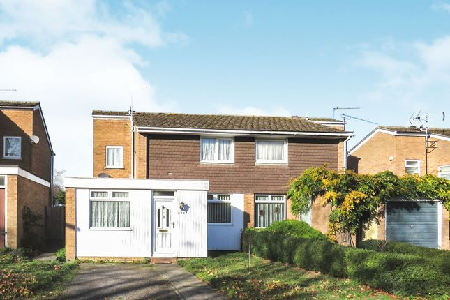 Thumbnail Semi-detached house for sale in St. Johns Way, Thetford