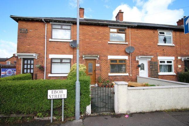 Thumbnail Terraced house for sale in Ebor Street, Belfast
