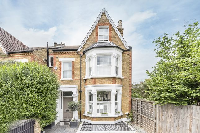 Thumbnail End terrace house to rent in Elms Crescent, London