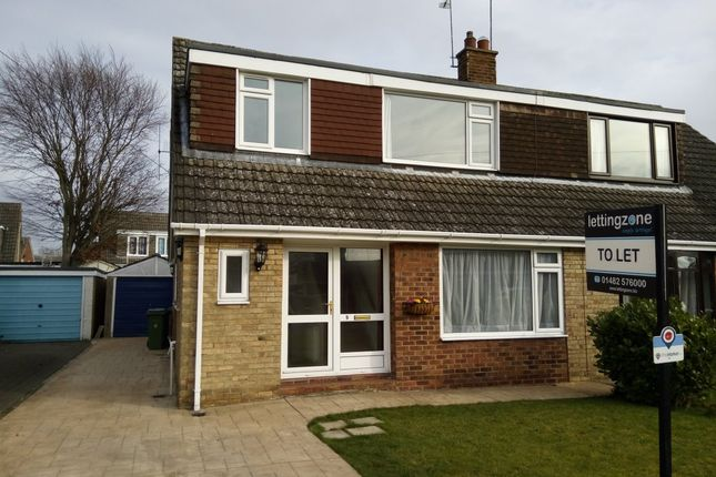 Thumbnail Semi-detached house to rent in Jobsons Close, South Cave, Brough