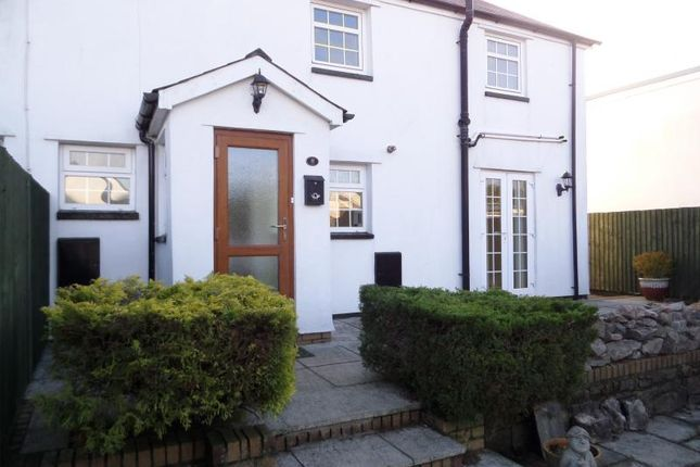Thumbnail Semi-detached house to rent in Redgate Terrace, Groesfaen, Pontyclun