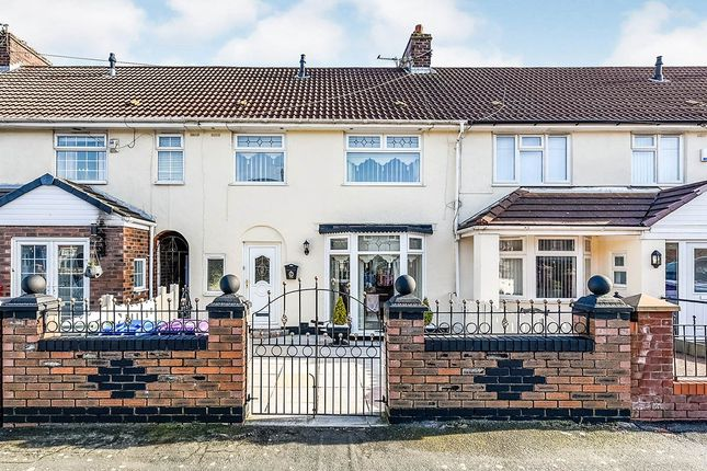 Thumbnail Terraced house to rent in Stainburn Avenue, Liverpool, Merseyside