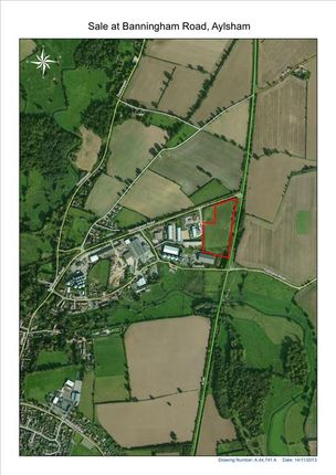 Thumbnail Land for sale in Banningham Road, Aylsham, Norwich, Norfolk