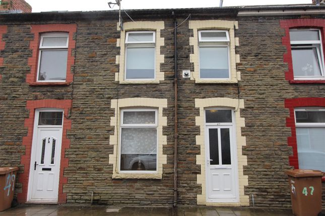 2 bed terraced house to rent in Ilan Road, Abertridwr, Caerphilly CF83