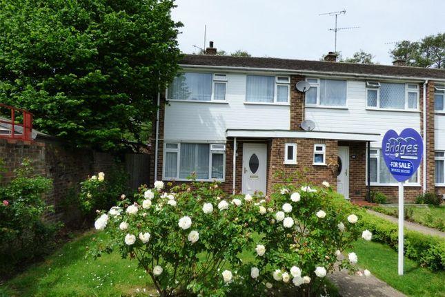 Thumbnail End terrace house for sale in Sunnybank Road, Farnborough