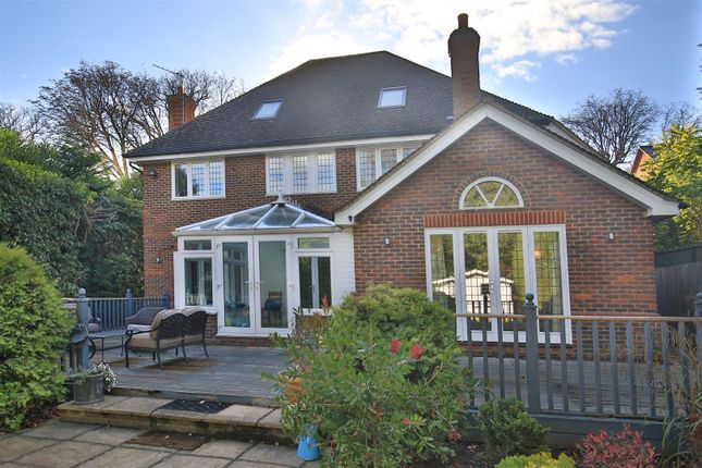 Thumbnail Detached house to rent in Old Chestnut Avenue, Claremont Park, Esher