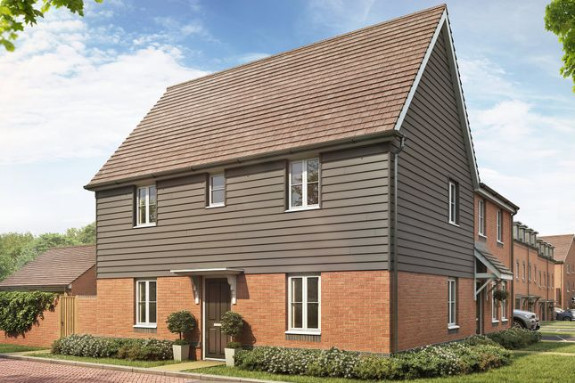 "Thumbnail Semi-detached house for sale in ""Hadley"" at Locksbridge Road, Picket Piece, Andover"