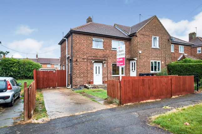 Thumbnail End terrace house for sale in James Watt Avenue, Corby
