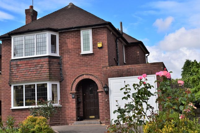 Thumbnail Detached house for sale in Grove Vale Avenue, Great Barr, Birmingham