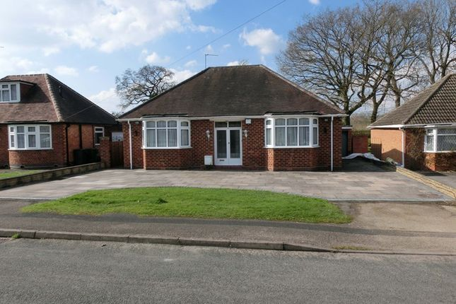 Thumbnail Detached bungalow for sale in Three Oaks Road, Wythall, Birmingham