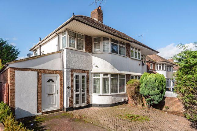 Thumbnail 4 bed semi-detached house for sale in Sevenoaks Road, Orpington, Kent