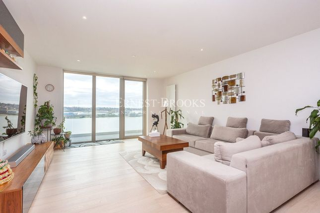 Thumbnail Flat for sale in Liner House, 2 Royal Wharf Walk