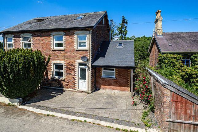 Thumbnail Semi-detached house for sale in Llanbister Road, Llandrindod Wells