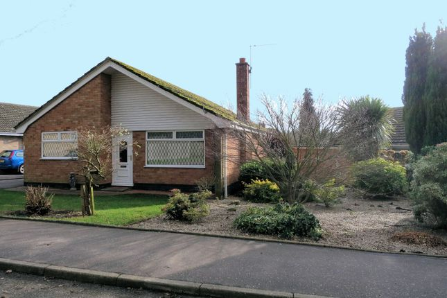Thumbnail Detached bungalow for sale in New Close, Acle