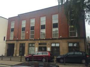 Office to let in St Mary's Gate, Derby