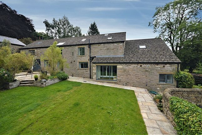 Thumbnail Barn conversion for sale in Lower Cliffe, Strines, High Peak