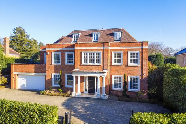 Thumbnail Detached house for sale in Burwood Park, Walton-On-Thames