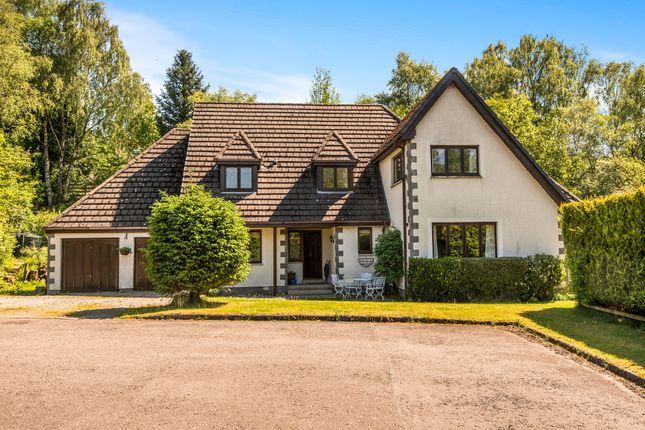 Thumbnail Detached house for sale in Mosslaird, Brig O'turk, Callander