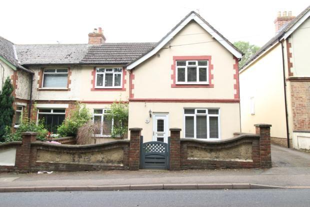 Thumbnail Semi-detached house to rent in Wellingborough Road, Irthlingborough