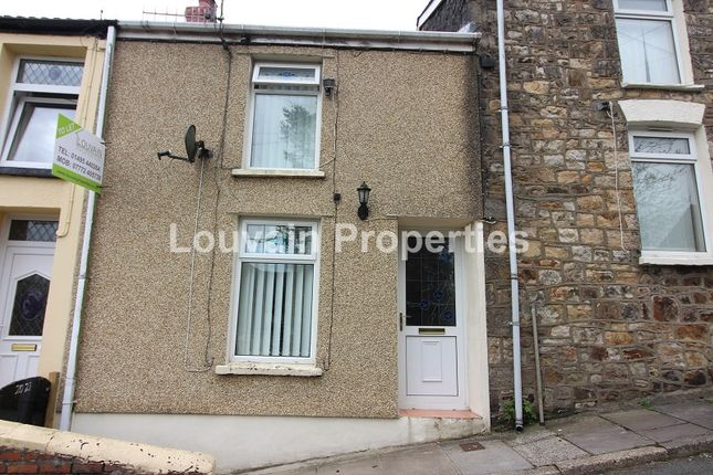 Thumbnail Terraced house to rent in Railway View, Ebbw Vale, Blaenau Gwent.