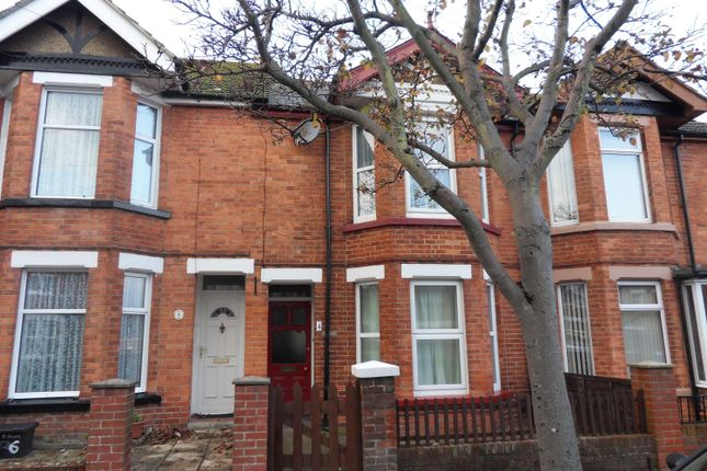 Thumbnail Terraced house to rent in St Francis Road, Cheriton, Folkestone, Kent