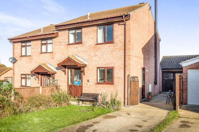 Thumbnail Semi-detached house for sale in Kessingland, Lowestoft, Suffolk