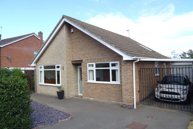 Thumbnail Detached bungalow for sale in Oakfield Avenue, Markfield, Leicestershire