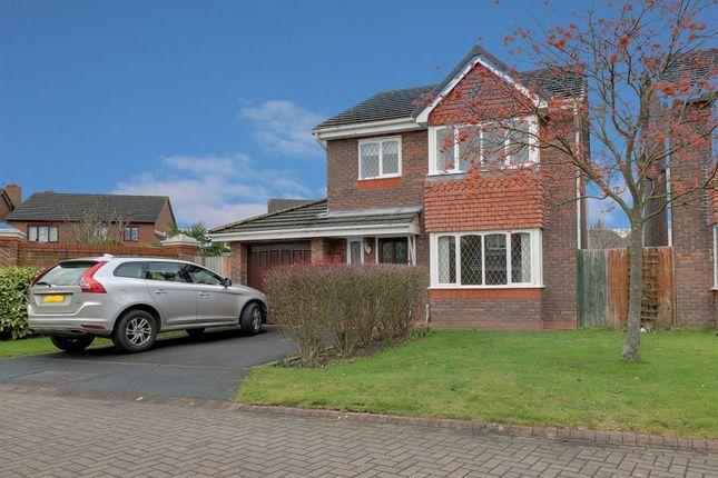Thumbnail Detached house to rent in Brunner Grove, St Josephs Park, Nantwich
