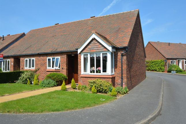 Thumbnail Terraced bungalow for sale in Mulberry Way, Aston-On-Trent, Derby