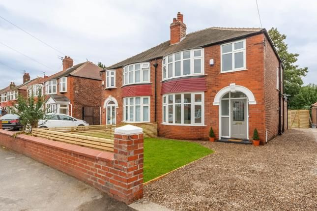 Thumbnail Semi-detached house for sale in Brantingham Road, Chorlton Cum Hardy, Greater Manchester