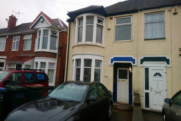 Thumbnail Terraced house to rent in Cheveral Avenue, Coventry