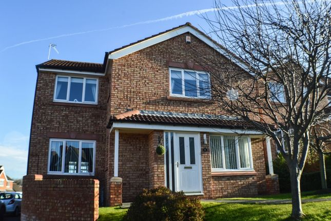 Thumbnail Detached house for sale in Lassels Rigg, Prudhoe
