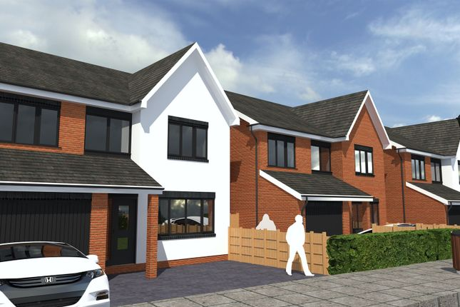Thumbnail Detached house for sale in Pineview, Coton Park, Linton, Swadlincote