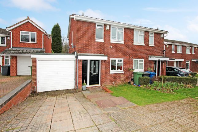 Thumbnail Semi-detached house for sale in Hartleyburn, Wilnecote, Tamworth