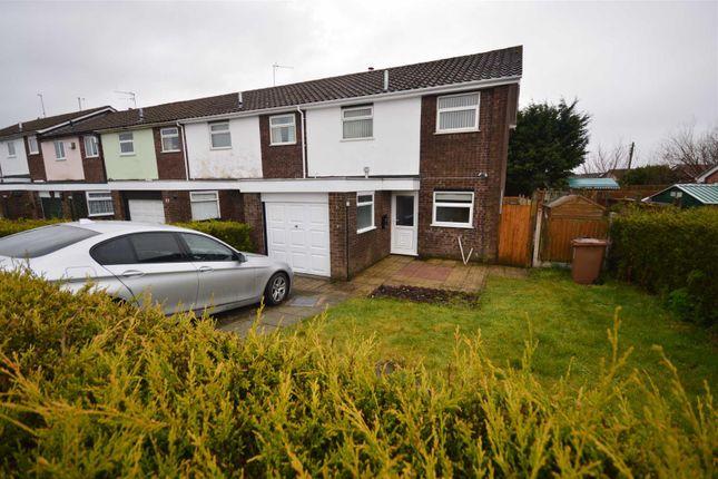 Thumbnail End terrace house to rent in Marshlands Road, Little Neston, Neston