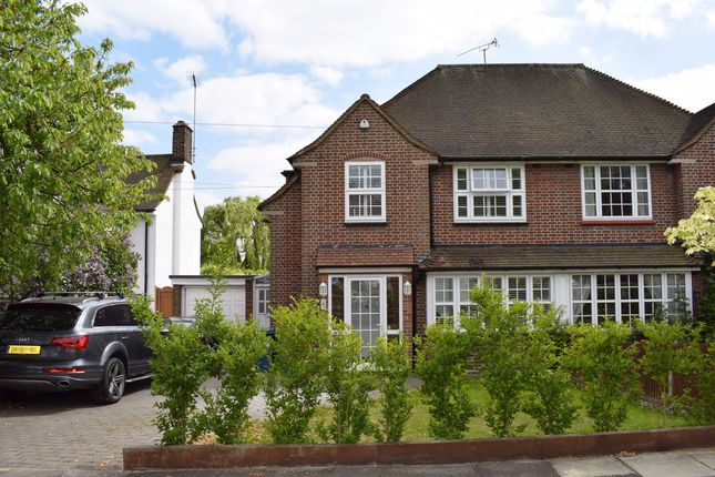 Thumbnail Semi-detached house for sale in Albury Drive, Pinner