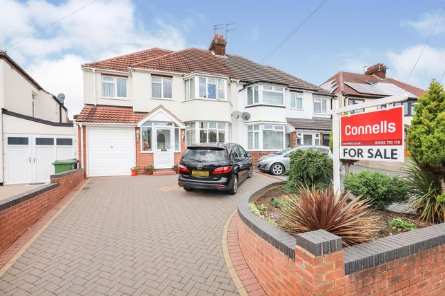 Thumbnail Semi-detached house for sale in Rosemary Crescent West, Goldthorn Park, Wolverhampton