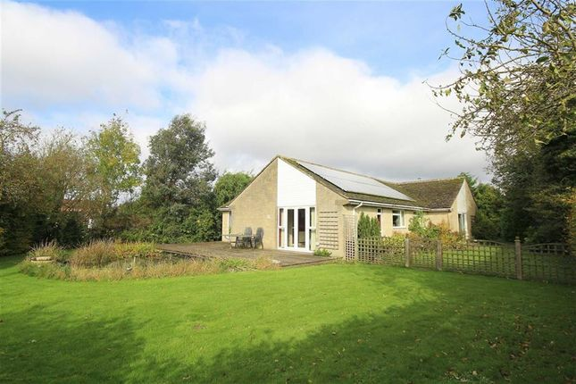 Thumbnail Detached bungalow for sale in The Street, Castle Eaton, Wiltshire