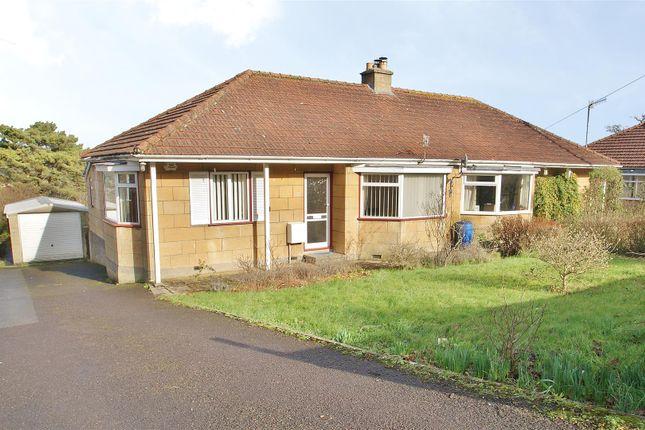 Thumbnail Semi-detached bungalow for sale in Warminster Road, Bathampton, Bath