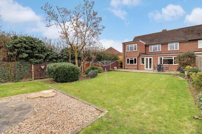 Thumbnail Semi-detached house for sale in Wadham Close, Shepperton