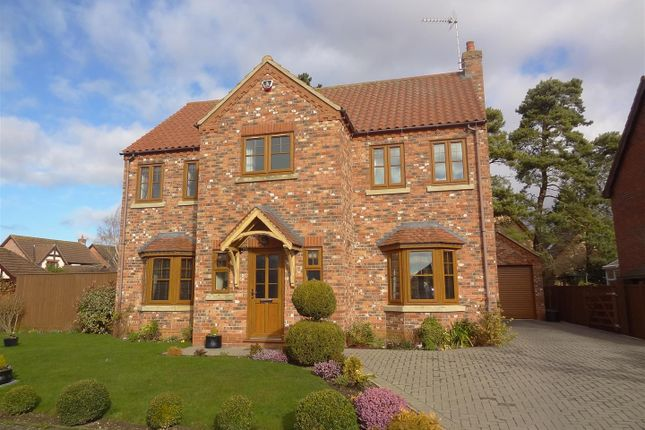 Thumbnail Detached house for sale in Bramley Close, Heckington, Sleaford