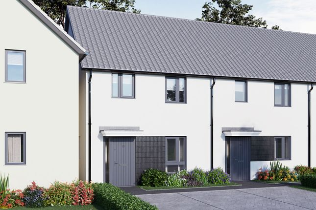 """Thumbnail Terraced house for sale in """"The Scott"""" at Tillhouse Road, Cranbrook, Exeter"""
